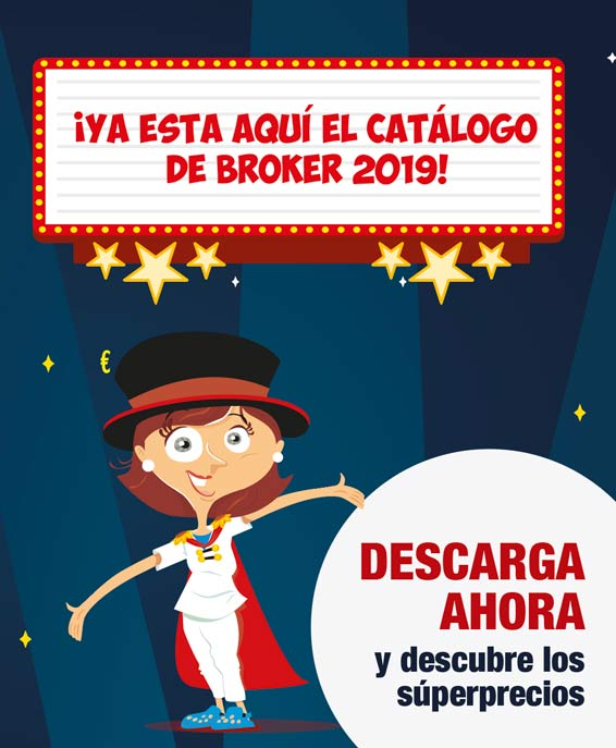 ¡Ya esta aquí el catálogo de Broker 2019!